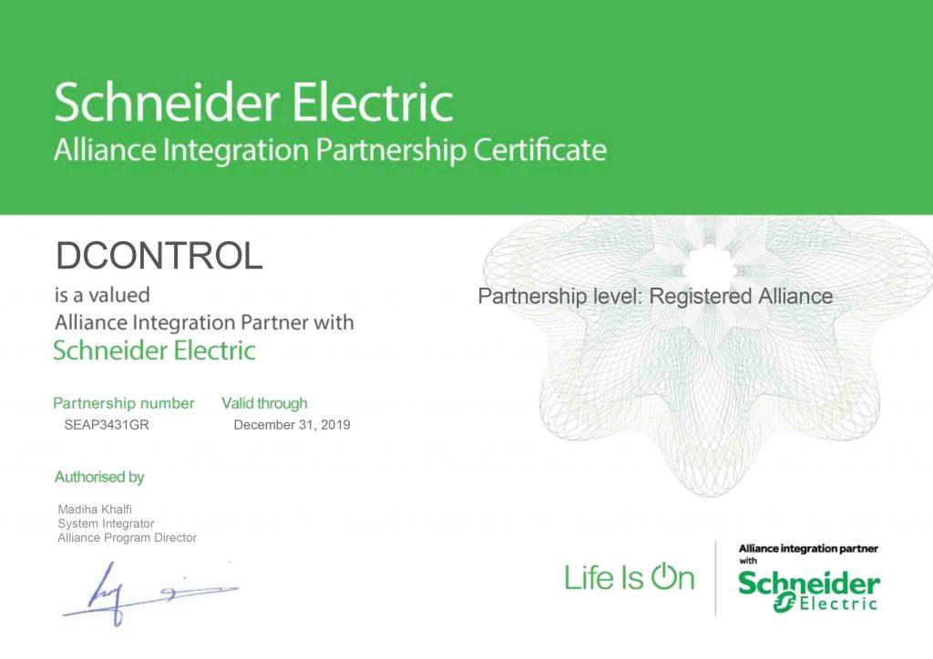 DCONTROL - Registered Alliance