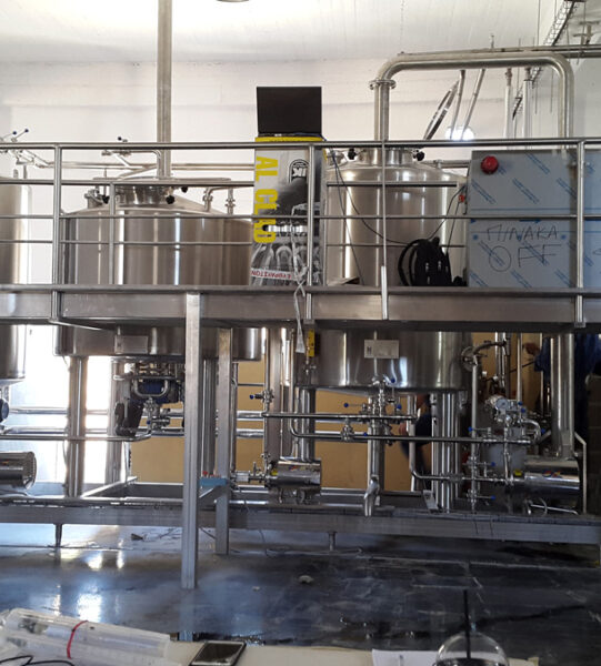 Brewery automation systems